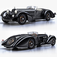 3ds mercedes-benz ss roadster 1930