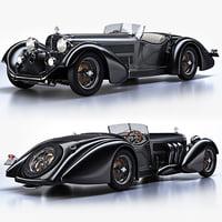 3ds mercedes-benz ss roadster 1930