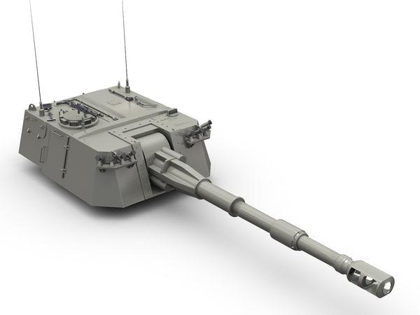 3d palmaria turret