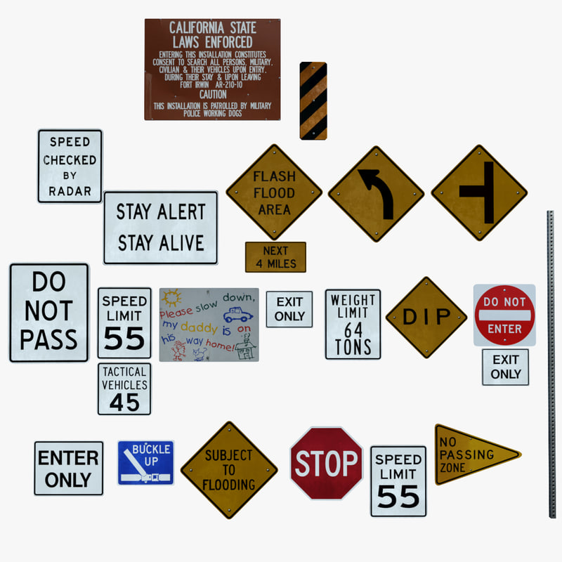 3ds max limit signs