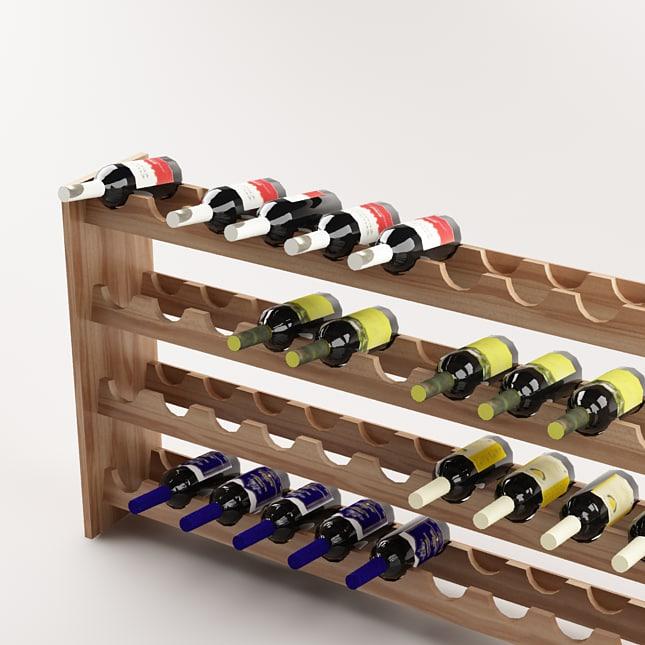 shelf bottle 3d model
