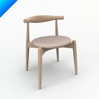 Hans Wegner Ch20 Elbow Chair