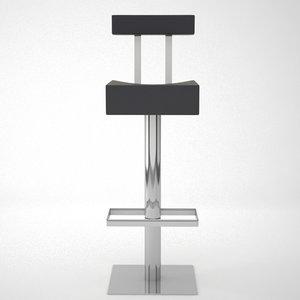 design barstool 3d max