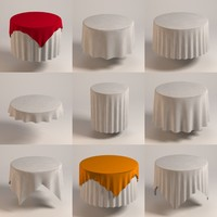round tableclothes