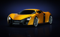 3d model of marussia b2