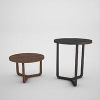 flexform jiff coffe table 3d model