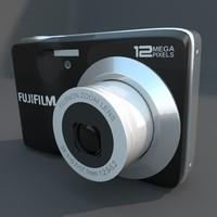 digital camera fuji av 3d model