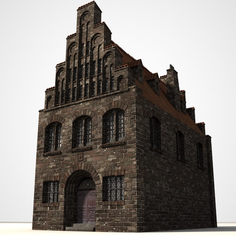 3ds gothic house