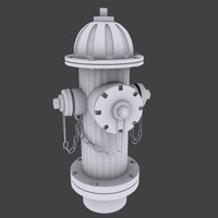 3d model water hydrant