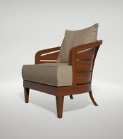 max wooden armchair