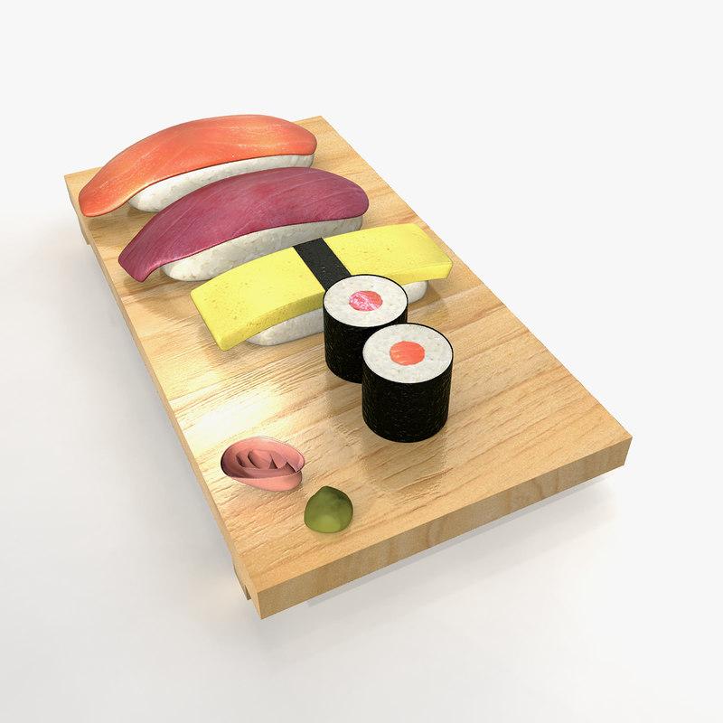 max sushi rice fish