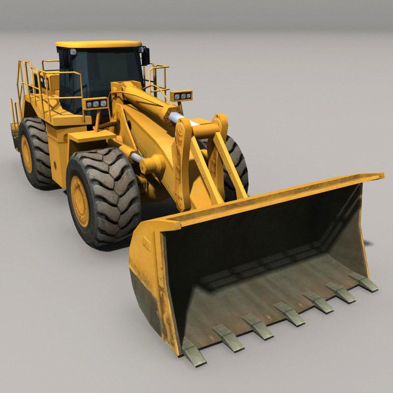 loader industrial 3d ma