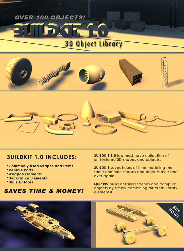 build kit 1 3d model