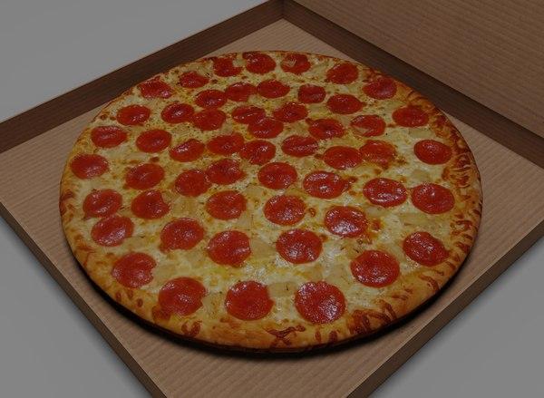 3d pizza 0 model