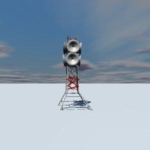 maya communications tower radar