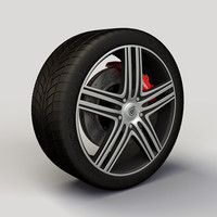 Wheel Dropstars DS08 rim and tire