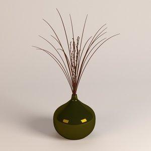3d model vase decoration