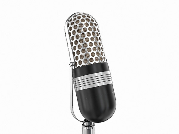 77-dx microphone 3d max