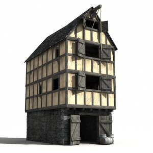 medieval warehouse 3d 3ds
