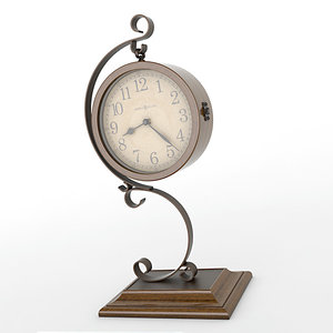 lightwave analog mantel clock