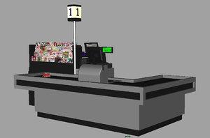 cash counter supermarket ma