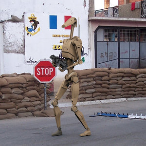 3d model droide