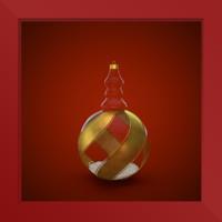 christmas decoration c4d