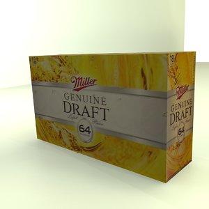 beer box miller max