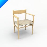 c4d ch37 hans wegner chair