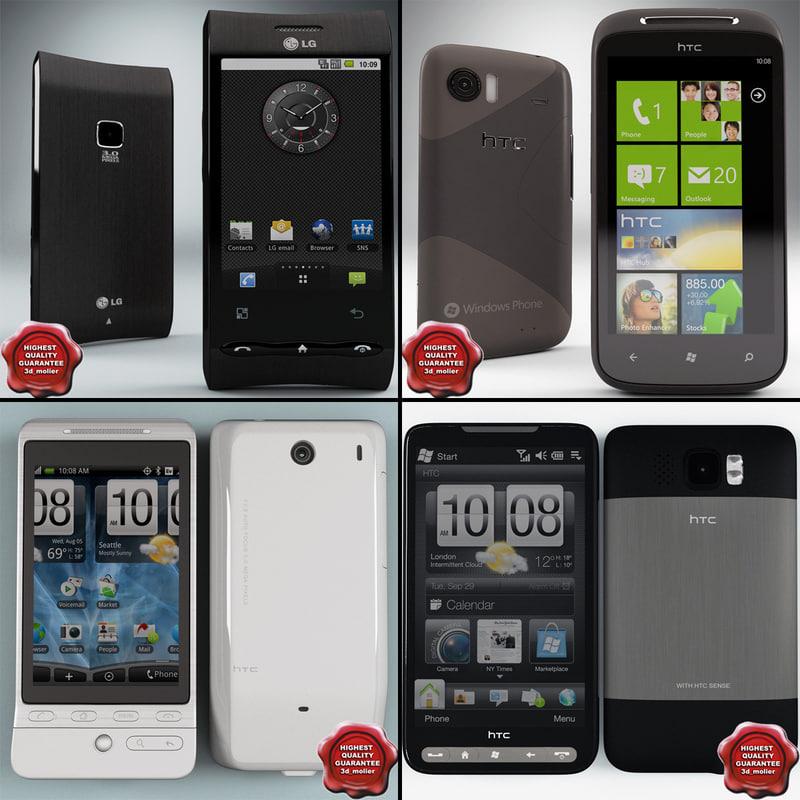 cellphones 32 3d c4d