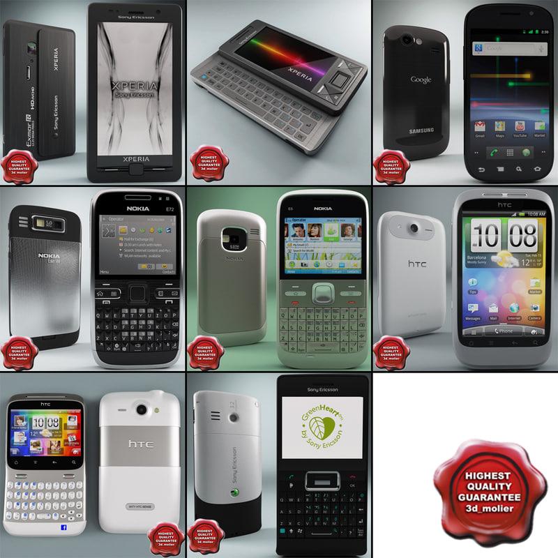 cellphones set aspen 3ds