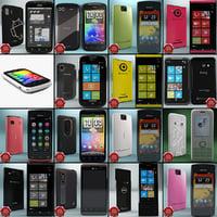 cellphones phone 3d model