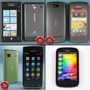 3d model cellphones 8