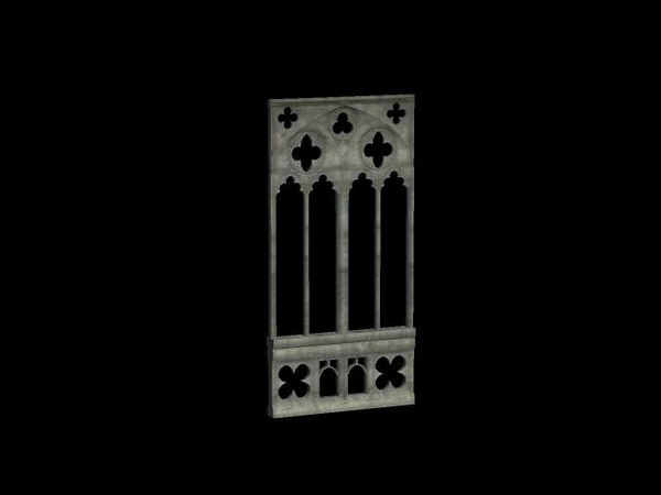 3d gothic arch