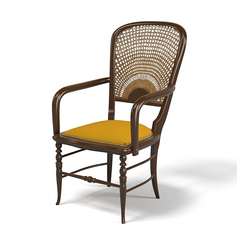 3d dining wicker chair