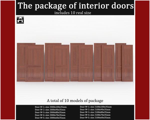 x package classic interior doors