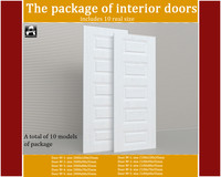 3d package interior doors