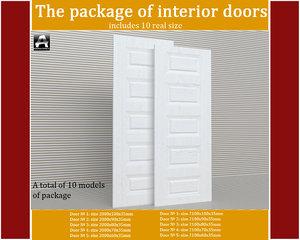 3d package interior doors