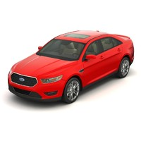 3d 2013 taurus sho car