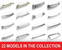 Collection of Furniture Handles