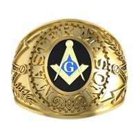 masonic ring 3ds