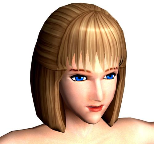 girl woman 3d model