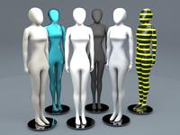 female mannequin 3ds