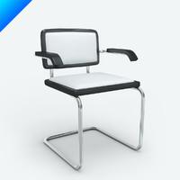 marcel breuer cesca armchair 3d model