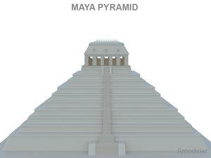 3d history pyramids model