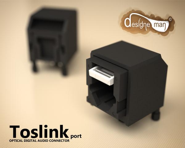 max toslink port