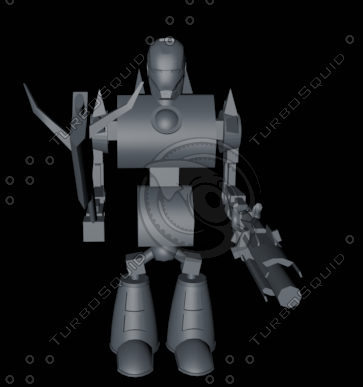 free c4d model android 02 12 viking