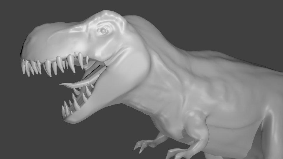 3d rex great t