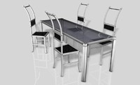 3d model furniture designed dining