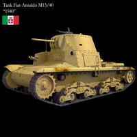 3d max tank m13 40